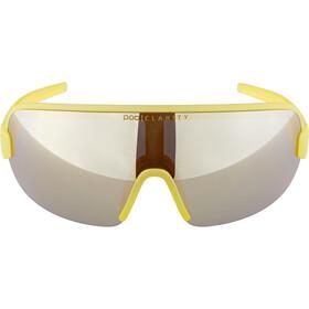 POC Aim Gafas de Sol, amarillo